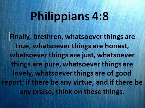 Philippians 4.8